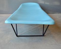 Fibrella Pair Of Vintage Fiberglass And Iron Poolside Lounge Chairs By  Fibrella   473447