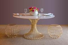 Fisher Weisman Gilded Cage Dining Table - 1828316