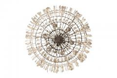 Fisher Weisman Gilded Cage Large Round Chandelier - 1905517