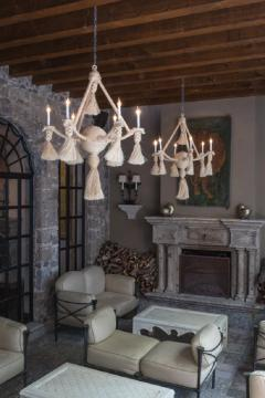 Fisher Weisman Large Rope Chandelier - 1905523