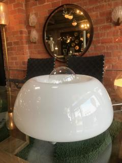 Flos Flos White Hand Blown Murano Glass Table Lamp Italy Space Age - 937584