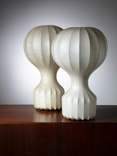 Flos Pair of Gatto Table Lamps by Castiglioni for Flos - 1166161