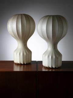 Flos Pair of Gatto Table Lamps by Castiglioni for Flos - 1166163
