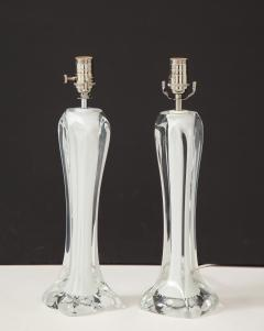 Flygsfors Pair of Flygsfors Crystal Lamps - 1258687