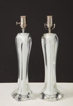Flygsfors Pair of Flygsfors Crystal Lamps - 1258691