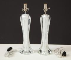 Flygsfors Pair of Flygsfors Crystal Lamps - 1258695