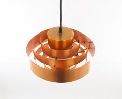 Fog M rup Copper Ultra pendant by Jo Hammerborg for Fog M rup 1960s - 1973373