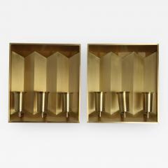 Fog M rup Fog Morup Brass Wall Lamps Pair - 408353