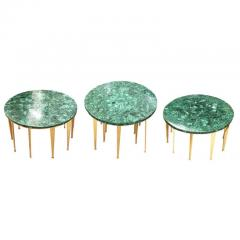 FormA by Gaspare Asaro Malachite Coffee Table or Side Tables by formA for Gaspare Asaro - 910690