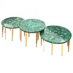 FormA by Gaspare Asaro Malachite Coffee Table or Side Tables by formA for Gaspare Asaro - 910692