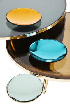 FormA by Gaspare Asaro Riflesso Coffee Tables Set of Three - 1108139