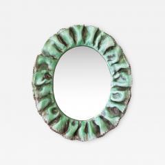 Fornace Farnesiana Mirror with a ceramic frame - 1017595