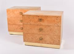 Founders Furniture Company Mid Century Modern pair of bedsides by Founders - 1084042