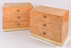 Founders Furniture Company Mid Century Modern pair of bedsides by Founders - 1096160