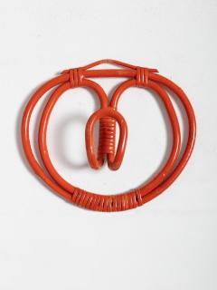 Franco Albini Franca Helg Set of Four Wall Hooks by Albini Helg for Bonacina - 1193708