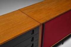 Franco Campo Carlo Graffi Black and Red Sideboard by Franco Campo and Carlo Graffi 1950s - 1960886