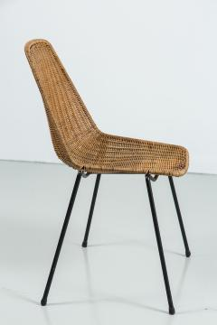 Franco Campo Amp Carlo Graffi Wicker And Iron Chairs By