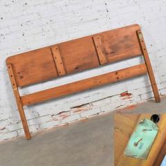 Franklin Shockey Furniture Mid century modern franklin shockey sculpted pine full size bed - 1609410