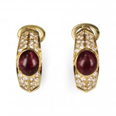Fred of Paris Fred Paris Ruby and Diamond Earrings - 74157