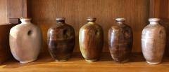 Freres Cloutier Set of Five Glazed Ceramic Gourds - 2007120