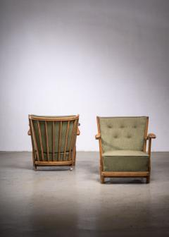 Frits Schlegel Pair of Fritz hansen model 1594 armchairs - 1914448