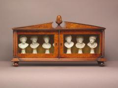 Furstenberg Porcelain Seven Miniature Furstenberg Biscuit Porcelain Busts of English Men of Letters - 850035