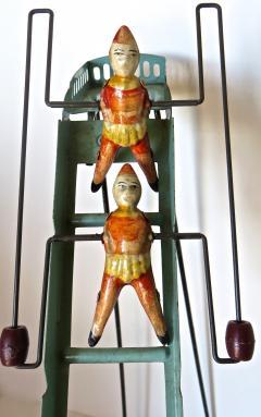 G Doloy Vintage French Toy Les Acrobates Circa 1920 - 698850