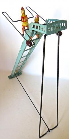 G Doloy Vintage French Toy Les Acrobates Circa 1920 - 698852