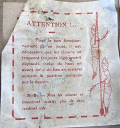 G Doloy Vintage French Toy Les Acrobates Circa 1920 - 698859