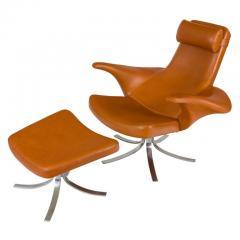 G sta Berg Stenerik Eriksson Seagull Chair and Ottoman by Gosta Berg and Stenerik Eriksson for Fritz Hansen - 2077799
