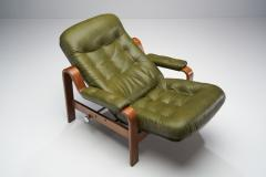 G te M bler N ssj Pair of Relax II Chairs and a Foot Stool by G te M bler Nassj AB Sweden 1970 - 1801522