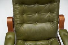 G te M bler N ssj Pair of Relax II Chairs and a Foot Stool by G te M bler Nassj AB Sweden 1970 - 1801542