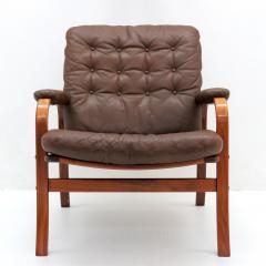 G te M bler N ssj Swedish Bentwood Leather Chairs by G te M bler N ssj  - 849840