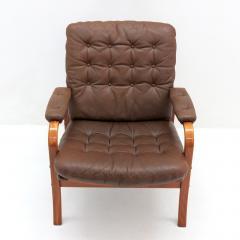 G te M bler N ssj Swedish Bentwood Leather Chairs by G te M bler N ssj  - 849842