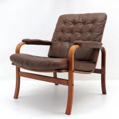 G te M bler N ssj Swedish Bentwood Leather Chairs by G te M bler N ssj  - 849843