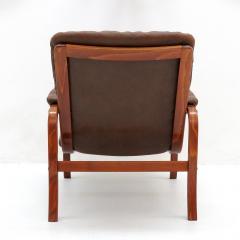 G te M bler N ssj Swedish Bentwood Leather Chairs by G te M bler N ssj  - 849846