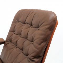 G te M bler N ssj Swedish Bentwood Leather Chairs by G te M bler N ssj  - 849847