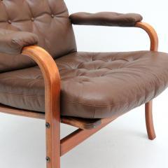 G te M bler N ssj Swedish Bentwood Leather Chairs by G te M bler N ssj  - 849848