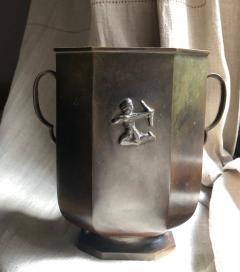 GAB Guldsmedsaktiebolaget Bronze Vase by GAB - 1910166