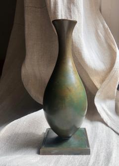 GAB Guldsmedsaktiebolaget Bronze vase by GAB - 1910178