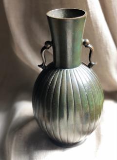 GAB Guldsmedsaktiebolaget Bronze vase by GAB - 1910194