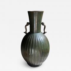 GAB Guldsmedsaktiebolaget Bronze vase by GAB - 1912159