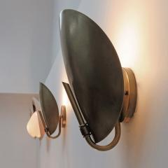 Gallery L7 Brass Shell Wall Lights - 581884