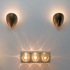 Gallery L7 Brass Shell Wall Lights - 581886