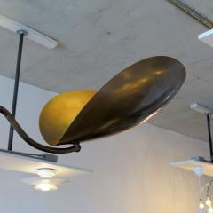 Gallery L7 Four Arm Raw Brass Chandelier Chiton  - 713916