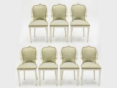 Garouste Bonetti Extremely rare set of 15 Garouste Bonetti Palace dining chairs 1980 - 1072633