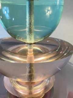 Garouste Bonetti POST MODERN JEWEL TONE RESIN LAMP IN THE MANNER OF GAROUSTE BONETTI - 1756754