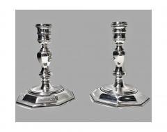 Garrard Co Garrard Co English Silver Candelabra Candlesticks London 1968 - 95588