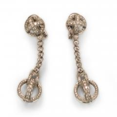 Garrard Co Garrard Diamond Earrings - 56403
