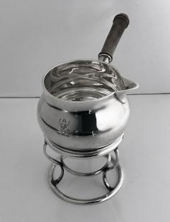 Garrard Co Garrard Silver Brandy Saucepan and Stand London 1916 - 1087850